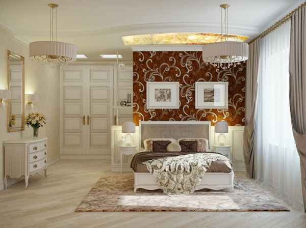 peinture-blanc-chambre-à-coucher-dentel