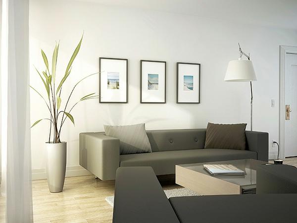 ✿ La maison et déco avec des peintures cool