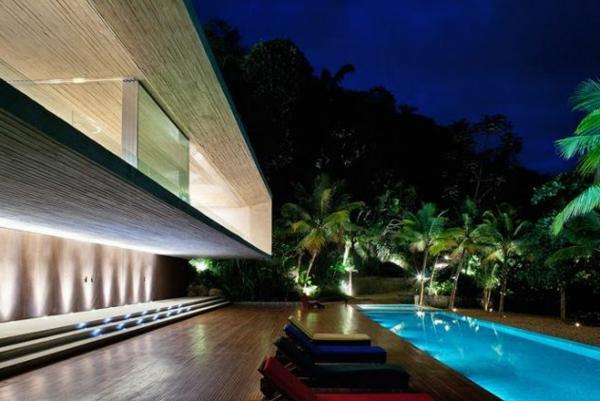 L 39 architecture aujourd 39 hui pour la maison au bord de la for Meilleur logiciel architecture