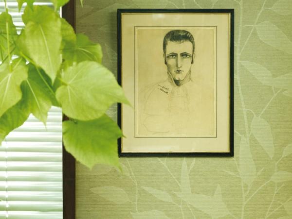Le papier peint intiss l gance la maison - Pose papier peint intisse ...