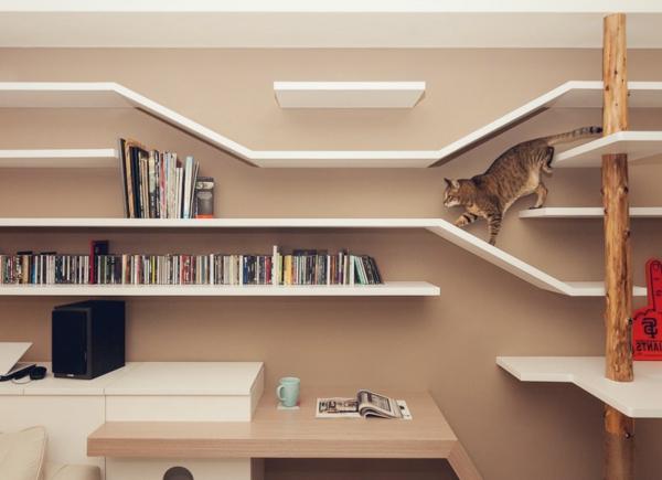 pour le chat domestique elle a aussi besoin de logement. Black Bedroom Furniture Sets. Home Design Ideas