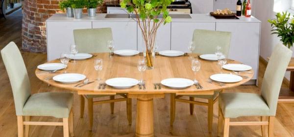 ronde-table-à-manger-extensible