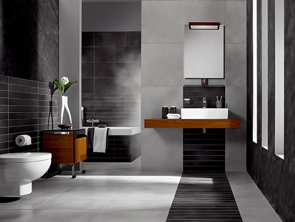 modele salle de bain contemporaine maison design. Black Bedroom Furniture Sets. Home Design Ideas