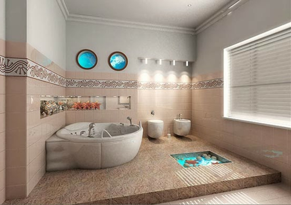 Modele Salle De Bain Moderne Quelques Idees Fascinantes Et Promettantes on beach decor coastal bedroom