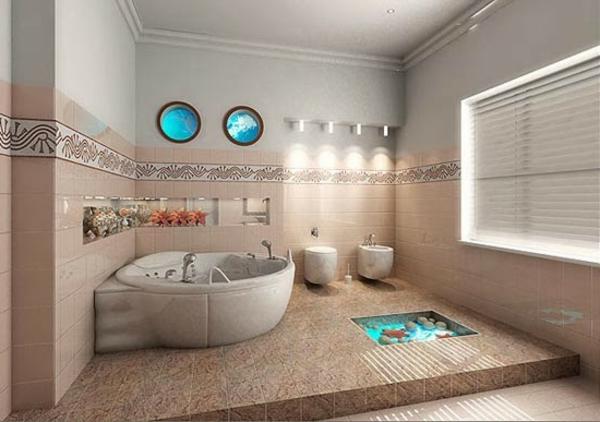 Mod le salle de bain moderne quelques id es fascinantes for Salle de bain orientale luxe