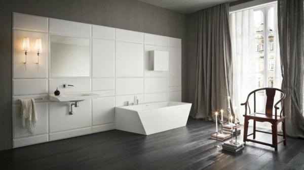 Mod le salle de bain moderne quelques id es fascinantes - Quel couleur pour une salle de bain ...