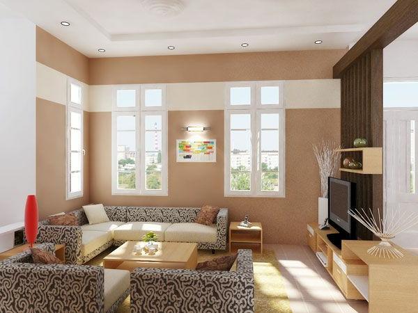 La maison et d co avec des peintures cool - Peinture design salon ...