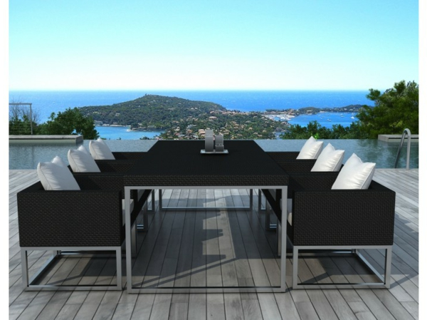 21 id es new pour le salon de jardin r sine tress e. Black Bedroom Furniture Sets. Home Design Ideas