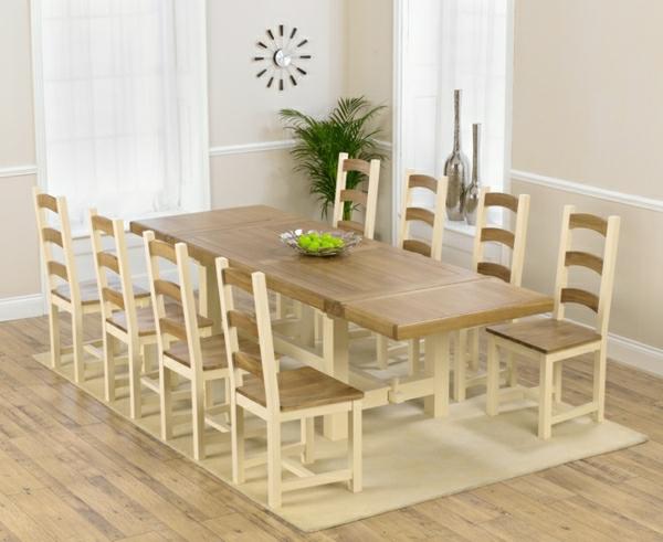 table-à-manger-extensible-bois-claire-