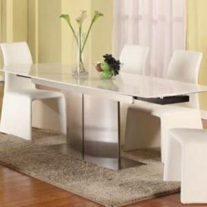 La table à manger extensible- quoi on peut prendre?