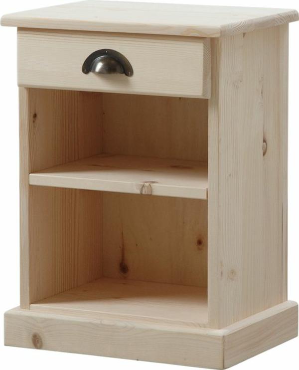 Une table de chevet en bois choisir ou faire vous m me for Tables de chevet bois