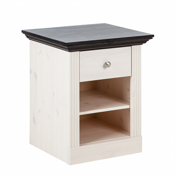 table de nuit bois. Black Bedroom Furniture Sets. Home Design Ideas