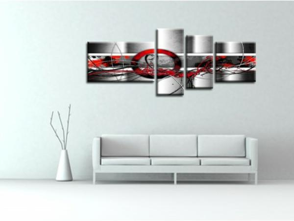 17 id e pour une grand tableau design mural du salon - Tableau moderne salon ...