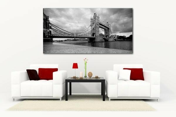 grand tableau noir et blanc tableau moderne abstrait noir. Black Bedroom Furniture Sets. Home Design Ideas