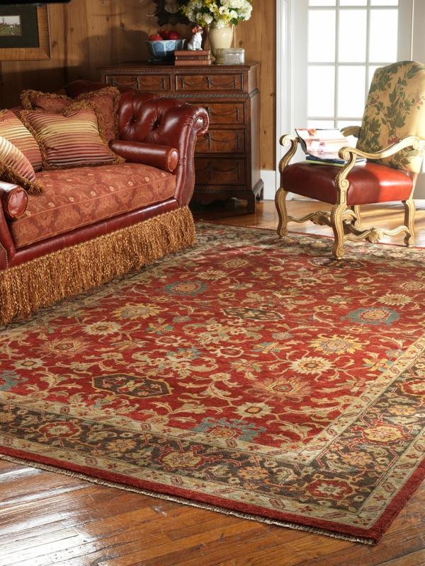 ✿ Le tapis persan – classe et histoire
