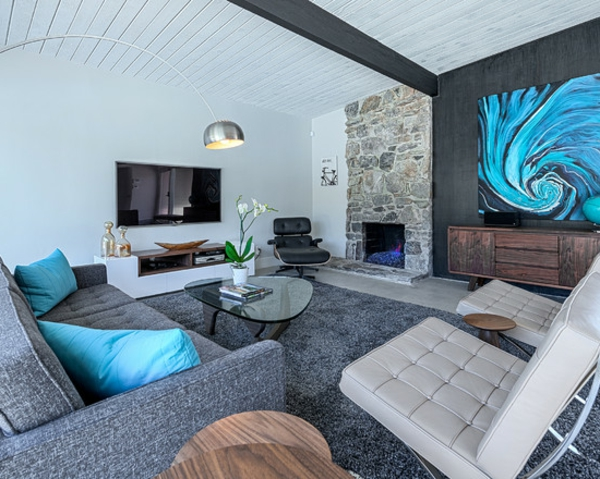 tapis gris poil ras. Black Bedroom Furniture Sets. Home Design Ideas
