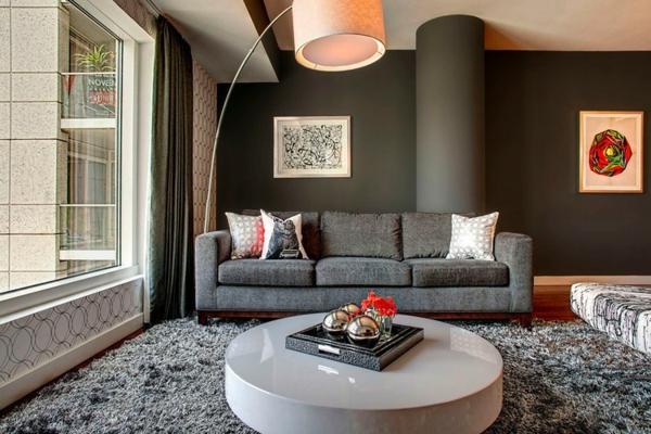 79 id es fanscinantes pour int rieurs tapis poil long - Quel tapis avec canape gris ...