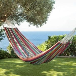 Un hamac suspendu - pour contempler et  rêver en toute liberté!