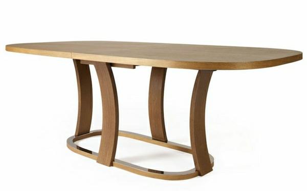 une-table-à-manger-extensible-oblonge