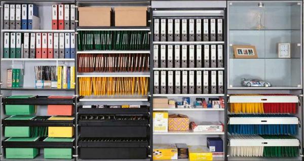 vertical-bibliothèque-pour-ranger-les-documents-à-la-maison