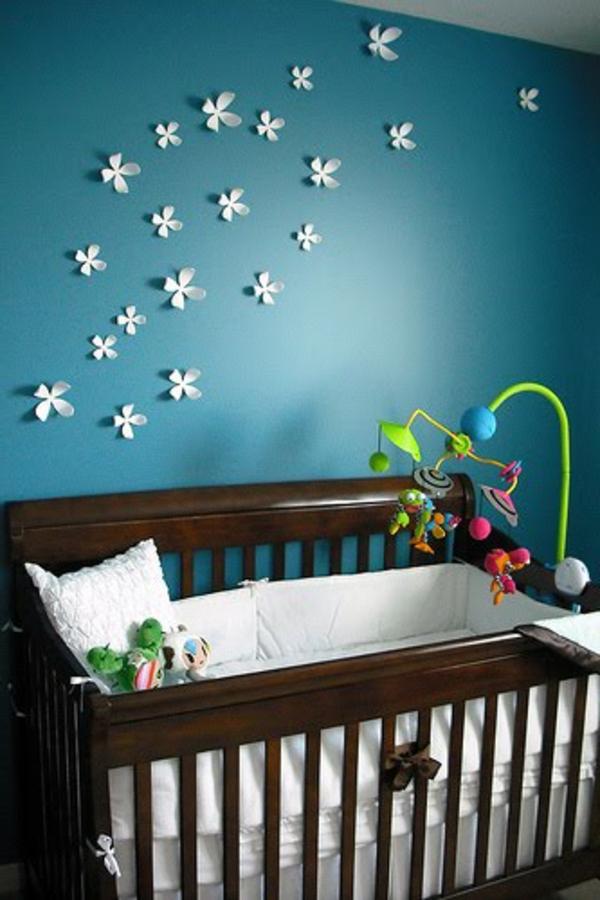 La d coration murale chambre b b comment faire pour for Decoration murale pour chambre
