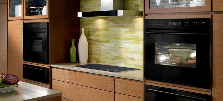 ★ Un four encastrable noir pour votre cuisine jolie et moderne