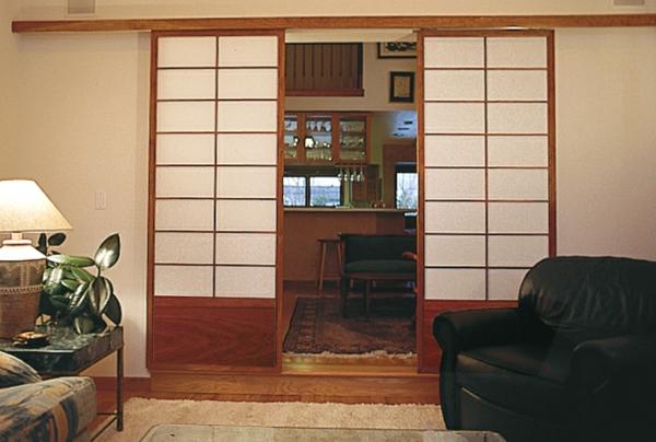 portes-coulissantes-japonaises-répartissantes-deux-petites-salles