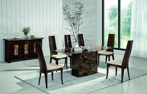 Le-marbre-et-le-design-contemporain-une-table-de-déjeuner-en-marbre
