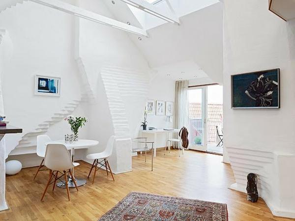 meuble-design-scandinave-dans-un-intérieur-originel