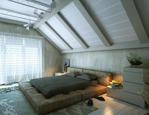 aménager-ses- combles-une-chambre-à-coucher-moderne