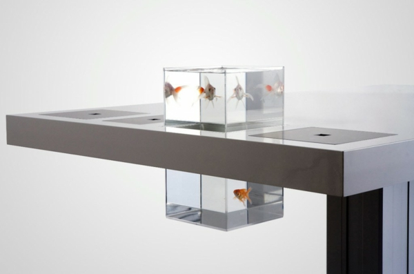 Un aquarium design pas cher quelques id es en photos - Bureau simple pas cher ...