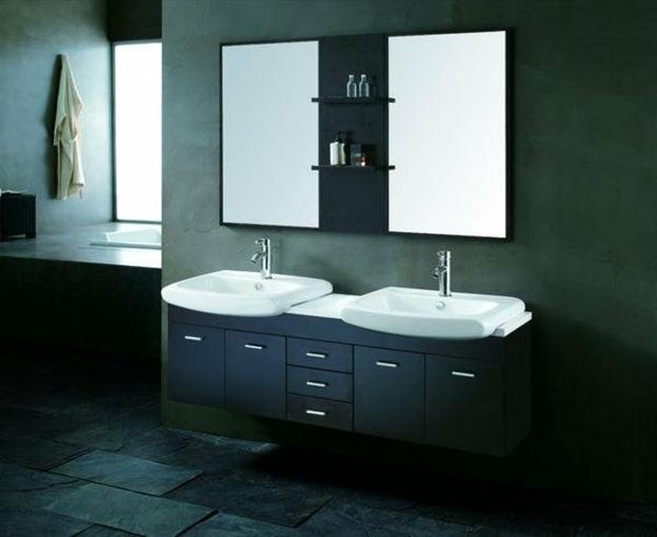 armoire-de-salle-de-bain-avec-miroir-et-le-sol-en-pierres-dans-une-salle-de-bain
