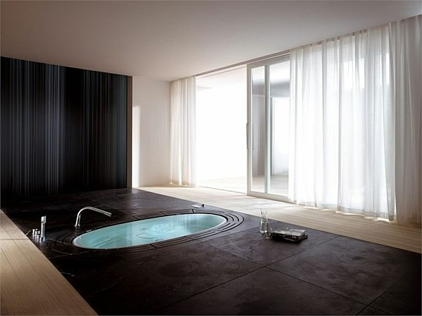 une baignoire encastrable. Black Bedroom Furniture Sets. Home Design Ideas