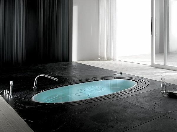 baignoire-encastrable-noire