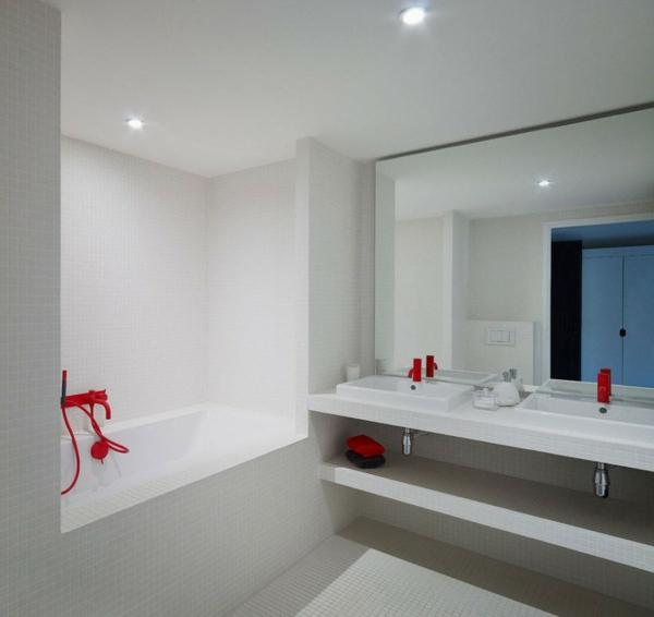 Salle de bain avec baignoire encastrable salle de bains - Lavabo encastrable salle de bain ...