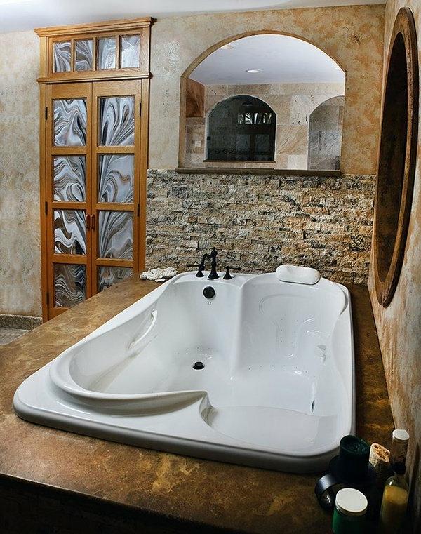 baignoire-encastrable-à-deux-places