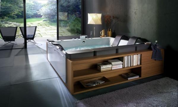 baignoire-encastrable-avec-étagère