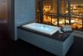 Une baignoire encastrable
