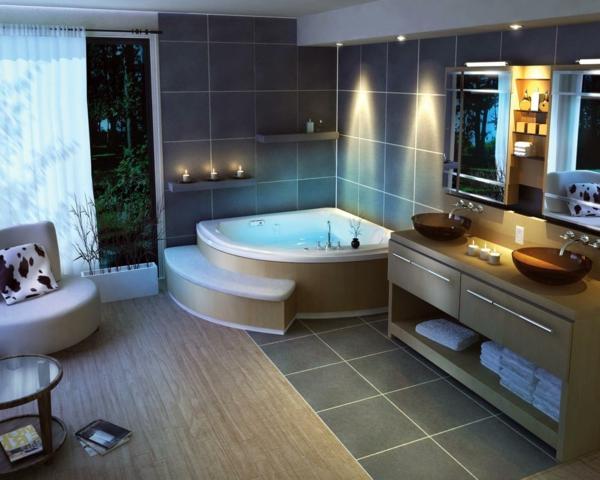 baignoire-encastrable-dans-un-intérieur-moderne