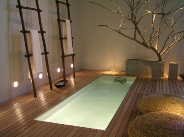 Une baignoire encastrable - Relaxing japanese bathroom design for ultimate relaxation bath ...