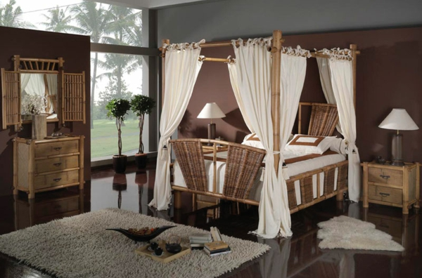 d co chambre bambou. Black Bedroom Furniture Sets. Home Design Ideas