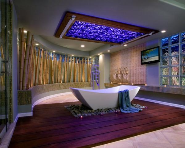 Le bambou d coratif va faire des miracles pour votre for Salle de bain zen moderne