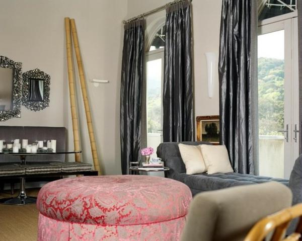 bambou-decoratif-idee-decoration-salon-pouf