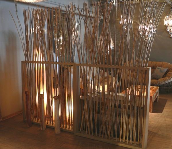 Le bambou d coratif va faire des miracles pour votre interieur - Panneau de separation interieur ...
