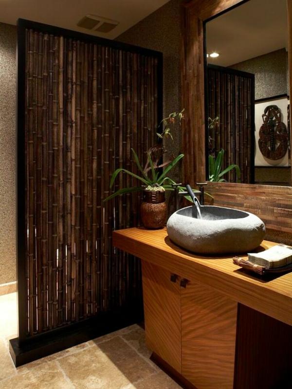 Le bambou d coratif va faire des miracles pour votre interieur for Salle de bain zen bambou