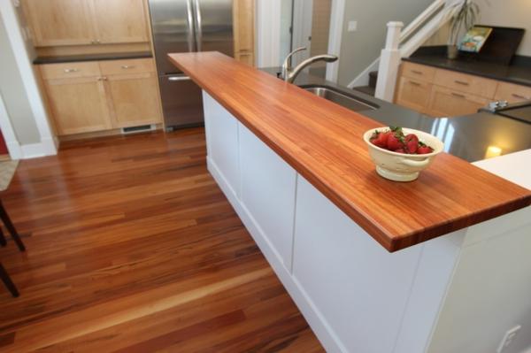 Un bar plan de travail des id es pour l 39 utilisation efficace de l 39 espace dans la cuisine for Plan de travail pour bar