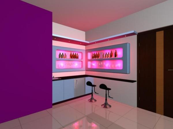bar-plan-de-travail-design-violet-tabourets