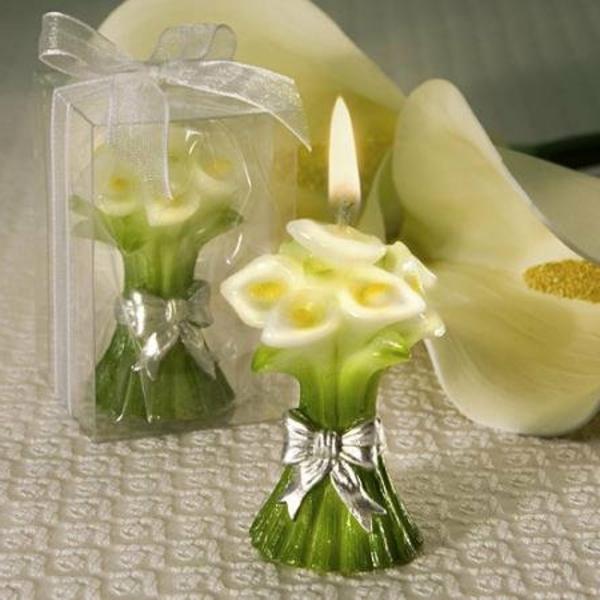 bougie-fleur-bouquets-mariage
