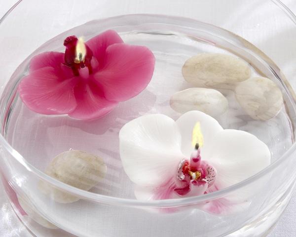 bougie-fleur-orchidees-flottantes