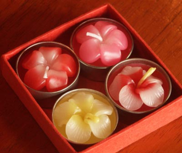 bougie-fleur-couleurs-boite